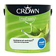 Crown Breatheasy Botanical Extract - Matt Standard Emulsion Paint - 2.5L