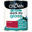 Crown Quick Drying Gloss - Top Notch - 750ml