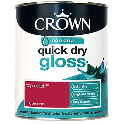 Image for Crown Quick Drying Gloss - Top Notch - 750ml from StoreName