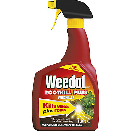 Image for Weedol Gun! Rootkill Plus Ready To Use Weedkiller - 1L from StoreName