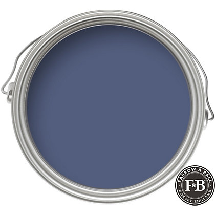 Image for Farrow & Ball Estate No.220 Pitch Blue - Eggshell Paint - 750ml from StoreName