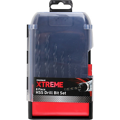 Image for Xtreme HSS Metal Bit Set - 8 Piece from StoreName