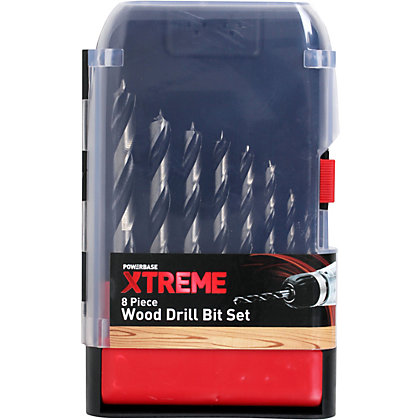 Image for Xtreme Wood Bit Set - 8 Piece from StoreName