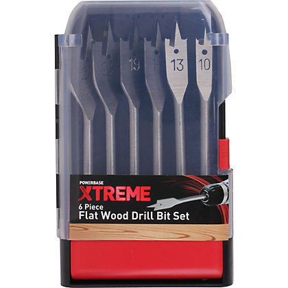 Image for Xtreme Flat Wood Bit Set - 6 Piece from StoreName