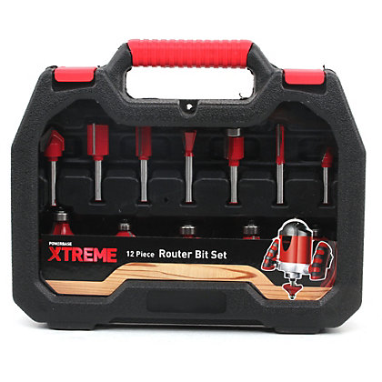 Image for Xtreme 12 Piece Router Bit Set from StoreName