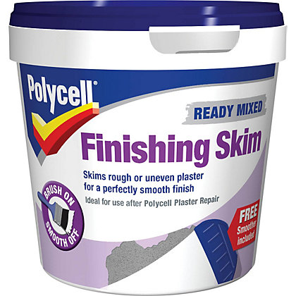Image for Polycell Finishing Skim Ready Mix Polyfilla - 1L from StoreName