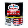 Sandtex Gloss Paint - Smokey Grey - 750ML
