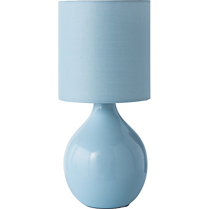 Image for Mini Table Lamp - Sea Blue from StoreName
