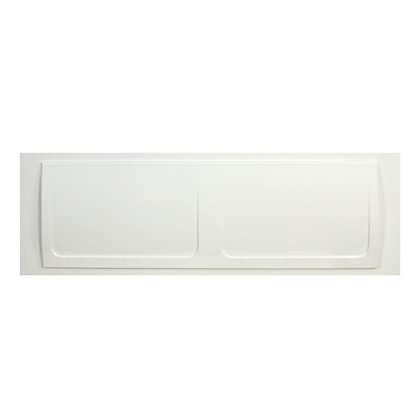 Image for Plastic Front Bath Panel - White from StoreName