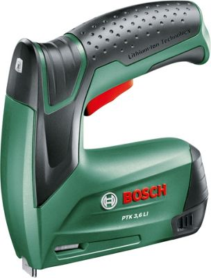 Image of Bosch PTK Cordless Lithium-Ion 3.6V Tacker
