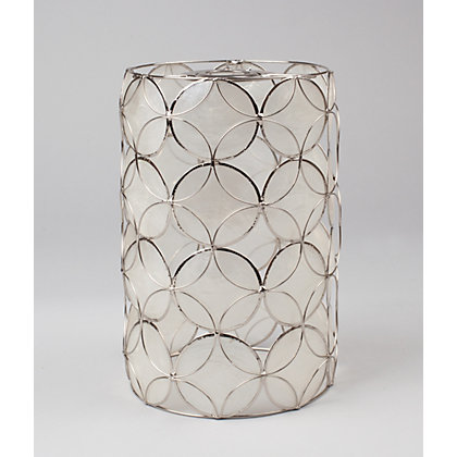 Image for Capiz Cylinder Easy Fit Pendant from StoreName