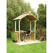 Forest Garden BBQ Shelter - 6ft 4in x 3ft 9in