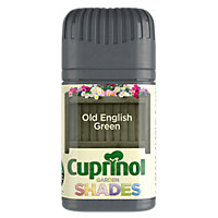 Cuprinol Garden Shades English Green Tester Pot - 50ml