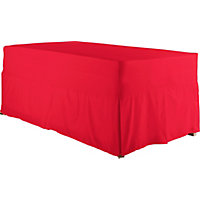 ColourMatch Poppy Red Valance - Single.
