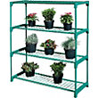 4 Shelf Tubular Greenhouse Staging - Pack of 2.