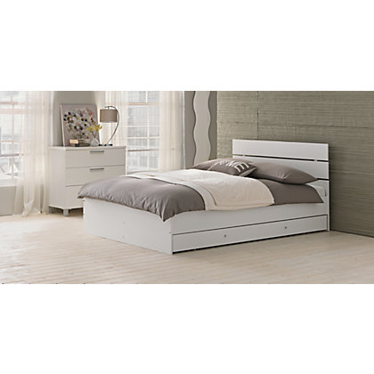 Metal Amp Wood Bed Frames Single Double Amp King Size Beds