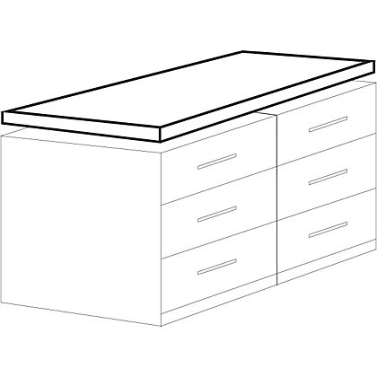 Image for Classic Ivory Worktop - 2000mm from StoreName