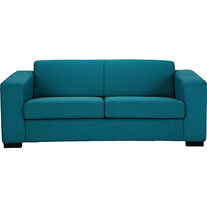 Ava fabric large sofa teal for Teal sofas for sale
