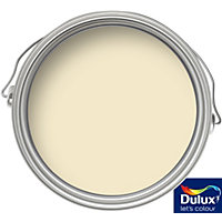 Dulux Daffodil White - Silk Emulsion Paint - 5L