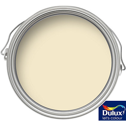 Image for Dulux Daffodil White - Silk Emulsion Paint - 5L from StoreName