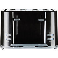 Prestige Eco 4 Slice Toaster - Black.