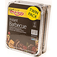 Disposable BBQ - 2 Pack
