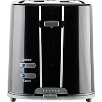 Prestige Eco 2 Slice Toaster - Black.