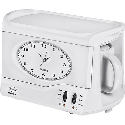 Image for Swan STM101 Vintage Teasmade - White. from StoreName