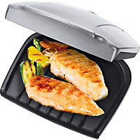 George Foreman 17894 2 Portion Health Grill - Silver.
