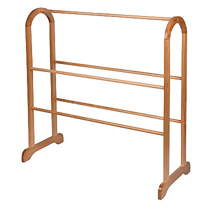 Image for Wooden Towel Stand from StoreName