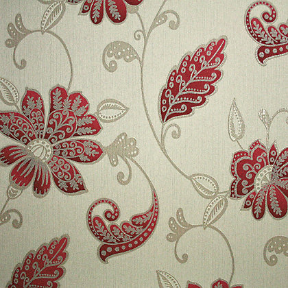 Image for Premier Juliet Wallpaper - Red from StoreName