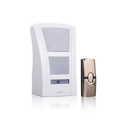 Image for Homebase HB602, Wirefree Portable Chime Unit - 100m from StoreName