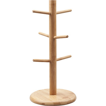 Image for Home of Style Bamboo Mug Tree from StoreName