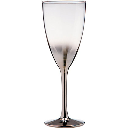 Image for Home of Style Platinum Base Wine Glass from StoreName