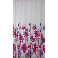 Watercolour Floral Shower Curtain