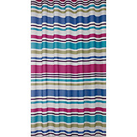 Multicolour Stripe Shower Curtain