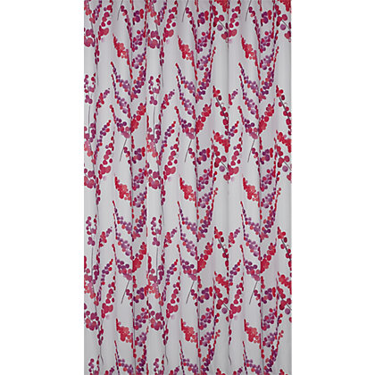 Image for Oriental Blossom Shower Curtain - Multicoloured from StoreName