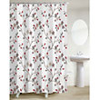 Silk Road Blossom Shower Curtain - Multicoloured