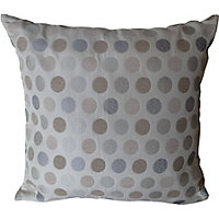 Home Of Style Spots Cushion - Natural - 45x45cm