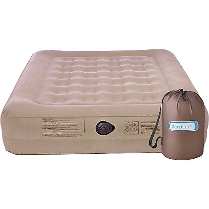 Image for AeroBed Active Raised Double Camping Air Bed with Pump. from StoreName