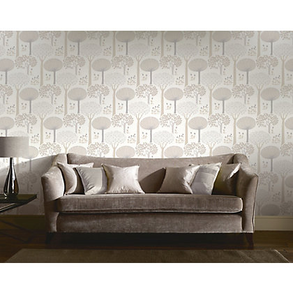 Image for Bernwood Wallpaper - Cream from StoreName