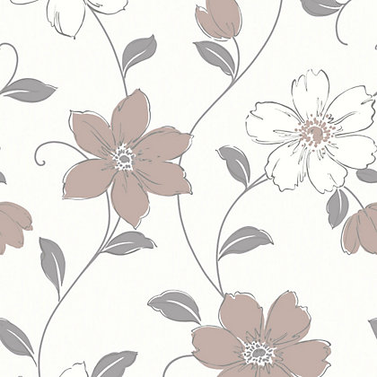 Image for Anouska Wallpaper - Taupe from StoreName