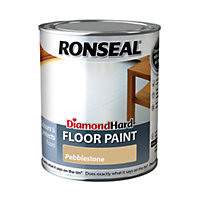 Ronseal Diamond Hard Floor Paint Pebble Grey - 750ml