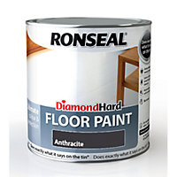 Ronseal Diamond Hard Floor Paint Anthracite - 2.5L