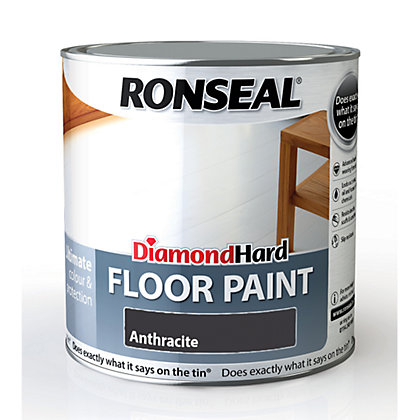 Image for Ronseal Diamond Hard Floor Paint Anthracite - 2.5L from StoreName