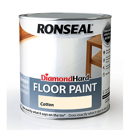 Image for Ronseal Diamond Hard Floor Paint Cotton  - 2.5L from StoreName