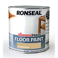 Ronseal Diamond Hard Floor Paint Pebble Grey - 2.5L