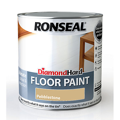 Image for Ronseal Diamond Hard Floor Paint Pebble Grey - 2.5L from StoreName