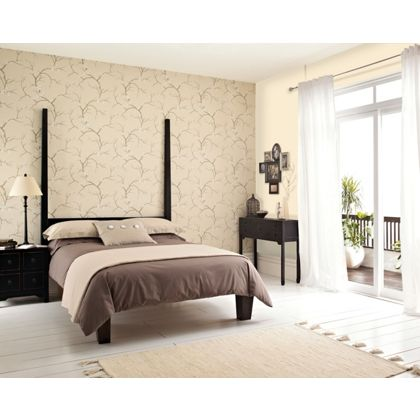 can i use ordinary emulsion to paint over vinyl wallpaper
