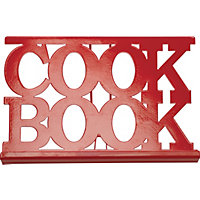 Home of Style Paintbox Cookbook Stand - Red